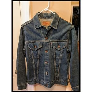 RARE Vintage 1960s Levi's Denim Jacket Size 36
